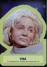 Star Trek TOS 40th Anniversary Series 2 Star Trek Stickers Chase Card S12