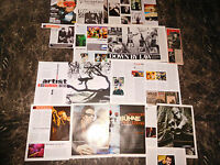 TOM WAITS  49  TEILE/PARTS  CLIPPINGS  LOT    09/15