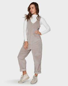 Billabong size 12 Desert cord overalls jumpsuit