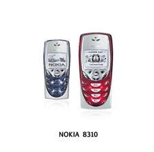 Cellulare NOKIA 8310 COLORE BLACK NUOVO !! GARANZIA 12 MESI !! IN ITALIA