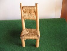 CHAISE CORDE TRESSEE   CART 38