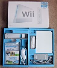 Nintendo Wii Sports White Console System Complete in Original Box Packaging Nice