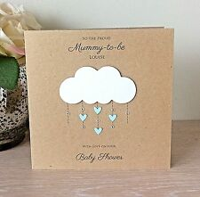 Personalised Baby Shower card boy/girl/unisex