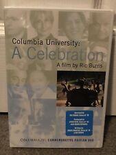 Columbia University A Celebration A Film By Ric Burns DVD New Commemorative DVD