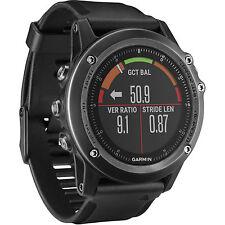 Garmin fenix 3 HR Multi-Sport Sapphire GPS Watch w/ Gray Black Band 010-01338-70