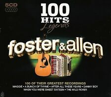 FOSTER & ALLEN 100 Hits Legends 5 CD set 100 of Their Greatest Recordings