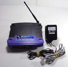 Cisco Linksys Router Wireless-G ADSL Gateway Modelo: WAG54G versión 1.2 Con Adaptador