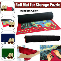 Jigsaw Roll Mat Puzzle Games Storage Tube Stores up to 500/1000 pieces Kids #