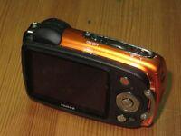 Fujifilm FinePix XP Series XP30 14.2MP Digital Camera - Orange  not working