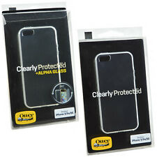 New OtterBox Clearly Protected Transparent Skin+Alpha Glass For iPhone 5/5S/SE