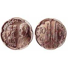 manueduc  ESPAÑA  50 pesetas  1992  ESPAÑA LA SAGRADA FAMILIA