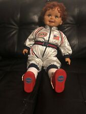 """Vintage """"Corky"""" boy doll by Playmates Toys in Star Ship Space Suit"""