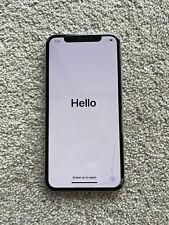 New listing Apple iPhone X - 256Gb - Silver (Unlocked) A1865 (Cdma + Gsm) (Au Stock)