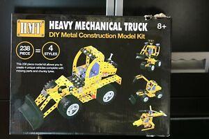 Heavy Mechanical Truck DIY metal construction model Kit age 8+