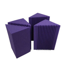 4 PCS Small Bass Trap Put in the Corner Wall Good Soundproof Foam for Studio