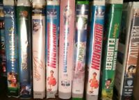 Lot Of 20+ VHS V126 Miscellaneous Genres Saving Private Ryan Goldfinger & more!