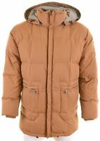 MURPHY & NYE Mens Padded Jacket Size 38 Medium Brown Polyester  EQ09