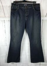 Levi Strauss Juniors Jeans Size 15 Blue Cotton Blend Medium Wash Boot-cut