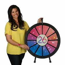 12 to 24 Slot Floor Stand Prize Wheel Game (31 in. Diameter)