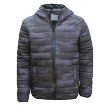 New Men's Windproof Water Resistant Lightweight Puffy Puffer Coat Quilted Jacket