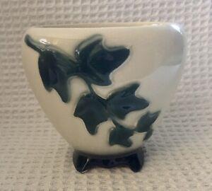 """Vintage Royal Copley Ivy Flower Pot/Vase 4 1/2"""""""