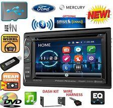 FORD MERCURY MAZDA Bluetooth/USB/DVD/AUX/CD Car Radio Stereo OPTIONAL SIRIUSXM