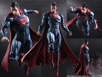 Play Arts Kai Batman V Superman Dawn of Justice Man Steel Action Figure Figurine