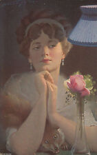 Kolorierte Sammler Motiv Ansichtskarten vor 1914 mit dem Thema Künstlerkarte