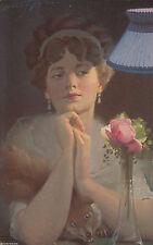 Kolorierte Künstler Ansichtskarten vor 1914