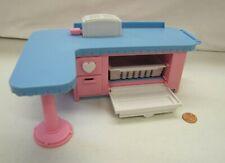 PLAYSKOOL Play Around Dollhouse REAL SOUNDS KITCHEN Dishwasher Toaster Works!