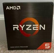 Amd Ryzen 5 5600X 3.7 Ghz Six-Core Am4 Processor Ships Fedex In Hand