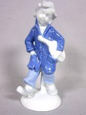 "Gerold Porzellanfigur 6681 A  ""Junge mit Geige"" ca. 15 cm H   4T1464"
