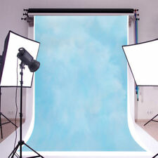 Solid Light Blue Portrait Photography Backgrounds 5x7ft Vinyl Photo Backdrops