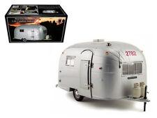 Aluminum Camper Trailer 1/18 Diecast Model by Motorcity Classics