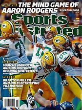 New Sports Illustrated Aaron Rodgers Green Bay Packers 9/21/15 2015 No Label
