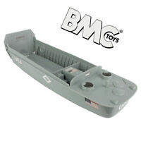 BMC WWII D-DAY US HIGGINS BOAT LANDING CRAFT 1/32 PLASTIC ARMY MEN FREE SHIP