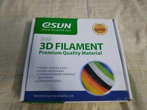 eSUN 1.75mm 0.5 KG ePA-CF Carbon Fiber Filled Nylon 3D Printer Filament SEALED!