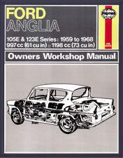 H0001 Ford Anglia (1959 - 1968) Haynes Repair Manual