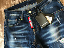 "BNEW Dsquared Slim Jean Jeans Waist 35"" / Inseam 33"" SIZE 50"