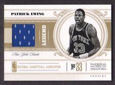 2010-11 National Treasures Century Jersey #141 Patrick Ewing /99 Knicks