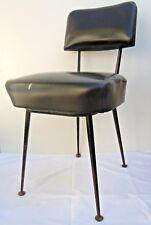 Chaise pieds compas Pierre Paulin Thonet design 1950 chair no prouve