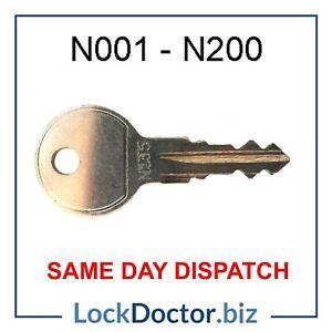 Thule HALFORDS Roof Box/ Roof Rack Keys to Code (N001 to N200) SAME DAY DISPATCH