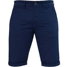 Enzo Jeans Mens Chino Shorts Casual Stretch Skinny Fit Cotton Summer Half Pants
