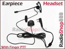 4-014K Ear Headset with Finger PTT for KG-UVD1P TG-UV2