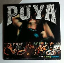 PUYA MUSIC 2001 PROMO UNION SAMPLER IN RIGID CASE 3 SONGS CD NEW
