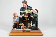 Vanmark Red Hats Of Courage 'Twas The Night Before Christmas'  Firefighter  NIB