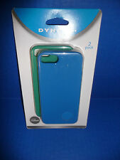 iPhone Case 2-Pack for iPhone 5 & 5S (Silicone) Blue/Green By Dynex NEW!!