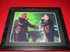 DR DRE & EMINEM SLIM SHADY SIGNED MOUNTED & FRAMED 10X8 PP REPRO PHOTO
