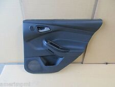 2013 FORD FOCUS ST OEM BLACK RHR REAR PASS DOOR PANEL SKIN TRIM COVER