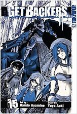 Get Backers: v. 15 (GetBackers), Yuya Aoki, Rando Ayamine, Very Good Book